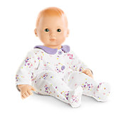 American Girl White Floral Sleeper