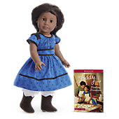 American Girl Addy  Doll & Paperback Book