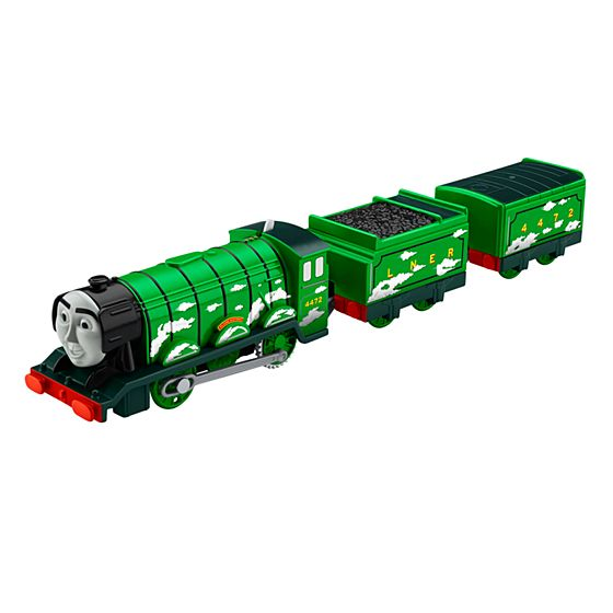 Thomas friends trackmaster flying scotsman for Thomas friends trackmaster motorized railway