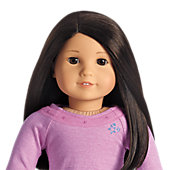 Truly Me™ Doll: Light Skin, Black Hair, Brown Eyes + Love to Layer Accessories