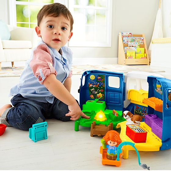 Toddler Toys People : Little people songs sounds camper shop