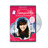 American Girl Samantha A Holiday DVD