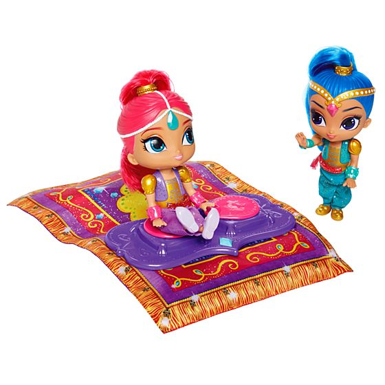Fisher Price Shimmer And Shine Magic Flying Carpet