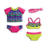 American Girl Lea's Mix & Match Swim Set