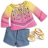 Bahia Outfit for 18-inch Dolls