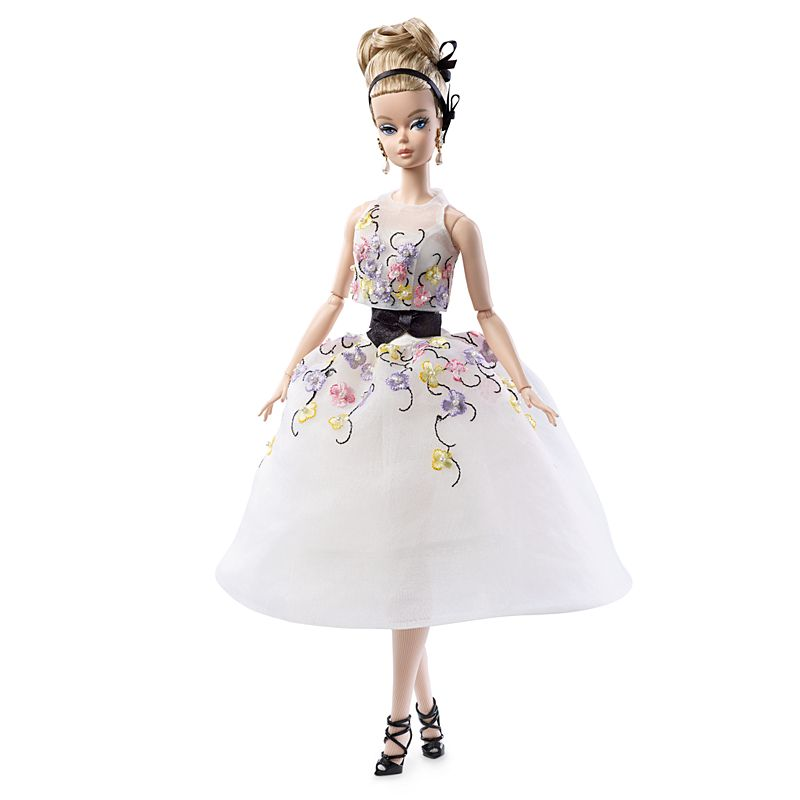 Barbie Collection Classic Cocktail Dress Silkstone Doll Lazada Ph