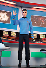 <em>Star Trek</em>&#8482; Spock Doll