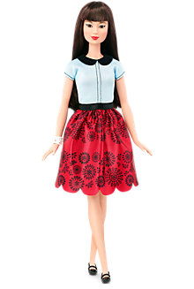 Barbie® Fashionistas&#174 Doll 19 Ruby Red Floral