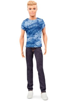 Mattel Brands: Mattel, Barbie, Fisher-Price & Hot Wheels - Barbie Fashionistas Ken Doll  Denim Blues Photo