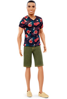 Ken® Fashionistas® Doll 4 Floral Tee