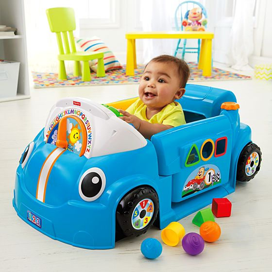 Toys For Learning To Crawl : Laugh learn™ crawl around™ car blue