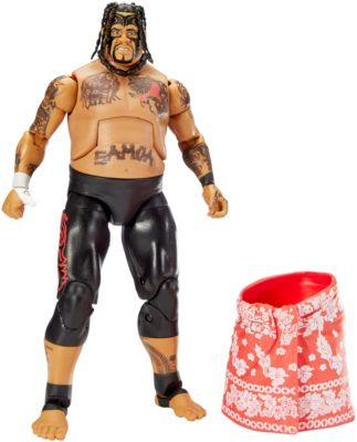 Mattel Brands: Mattel, Barbie, Fisher-Price & Hot Wheels - WWE Elite Collection Umaga Figure Photo