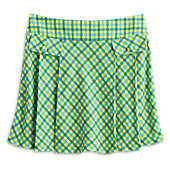 American Girl Pleated Plaid Skort for Girls