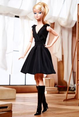 <em>Classic Black Dress</em> Barbie&#174; Doll