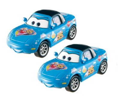 Mattel Brands: Mattel, Barbie, Fisher-Price & Hot Wheels - DisneyPixar Cars Dinoco Mia & Dinoco Tia DieCast 2Pack Photo