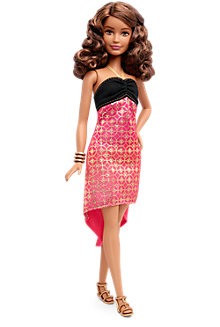 Barbie® Fashionistas® Doll 24 Crazy For Coral