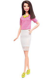 Barbie® Fashionistas™ Doll 30 White & Pink Pizzazz - Tall