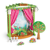 American Girl Garden Theater Stage
