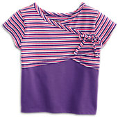 American Girl Striped Dance Top for Girls