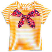 Bow-Tiful Blooms Tee for Girls