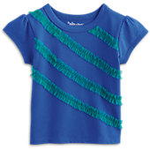 American Girl Ocean Waves Top for Girls