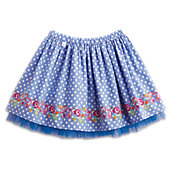 American Girl Polka-Dots & Blooms Skirt for Girls