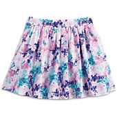 Playful Print Skirt for Girls