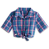 American Girl Pretty Plaid Shirt for Dolls