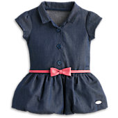 American Girl Indigo Bubble Dress for Dolls