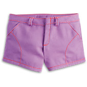 American Girl Purple Play Shorts for Dolls
