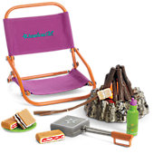 American Girl Adventure Campfire Set