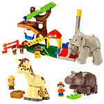 Fisher-Price® Little People® Big Animal Zoo Gift Set