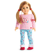 American Girl Holiday Penguin PJs for 18-inch Dolls