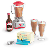 American Girl Blender & Milkshake Set