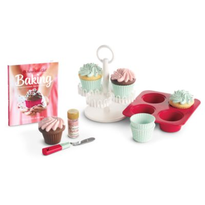 Williams-Sonoma Cupcake Set for Dolls