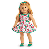American Girl Maryellen's Strawberry Outfit for 18-inch Dolls
