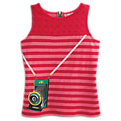 American Girl Retro Camera Tank Top for Girls