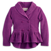 American Girl Plum Jacket for Girls