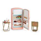 American Girl Maryellen's Refrigerator & Food Set