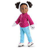 American Girl Winter Friends Skating Outfit for WellieWishers Dolls