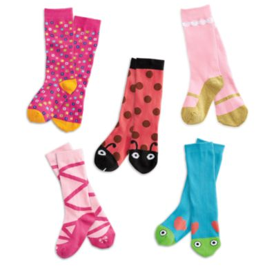 WellieWishers Socks Set for Girls - Popular Girl Toys