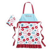 American Girl for Williams-Sonoma Kid Apron & Mitt