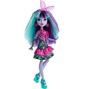 Mattel's fashion doll franchise Monster High features a variety of fictional characters, many of whom are students at the titular high school. The female characters are classified as Ghouls and the male characters are classified as Mansters.