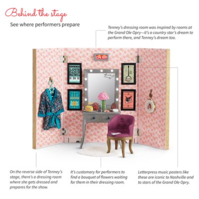 Tenney's Stage & Dressing Room - Popular Girl Toys