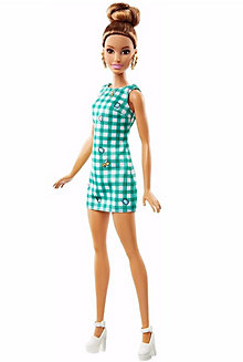 Barbie® Fashionistas® Doll 50 Emerald Check - Original