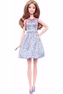 Barbie® Fashionistas® Doll 53 - Lovely in Lilac - Tall