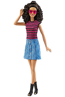 Barbie® Fashionistas® Doll 55 Denim & Dazzle - Tall