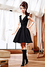 <em>Classic Black Dress</em> Barbie&#174; Doll (Brunette)