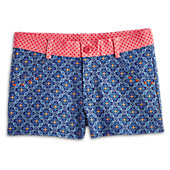 Geo Print Shorts for Girls