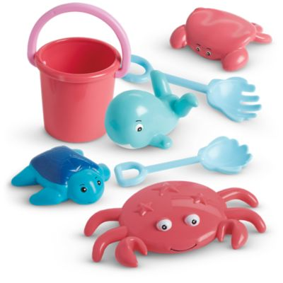 Seaside Fun Shape Bucket & Tools